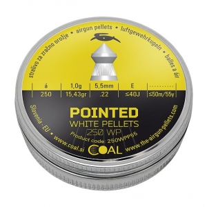 COAL POINTED PELLETS 5.5